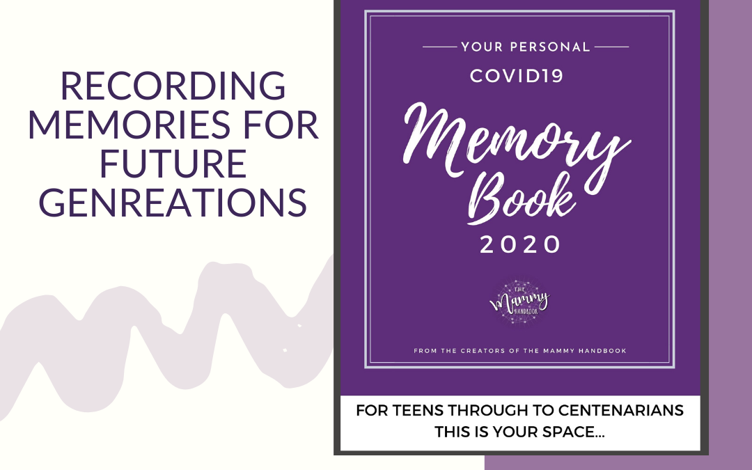 COVID-19 Personal Memory Book by The Mammy Handbook